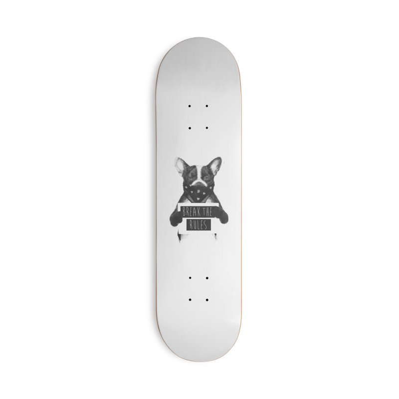 Rebel dog Accessories Deck Only Skateboard by Balazs Solti