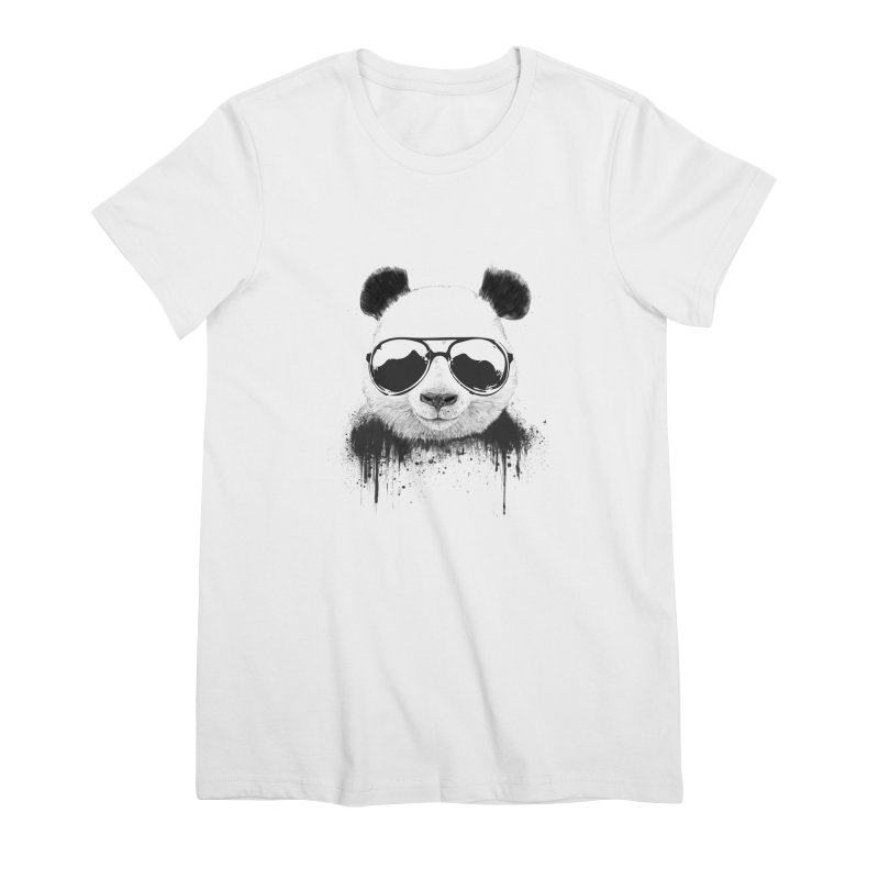 Stay cool Women's Premium T-Shirt by Balazs Solti