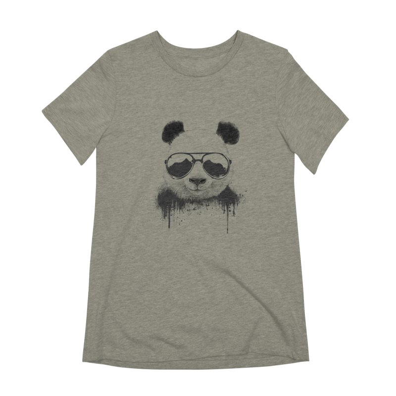 Stay cool Women's Extra Soft T-Shirt by Balazs Solti