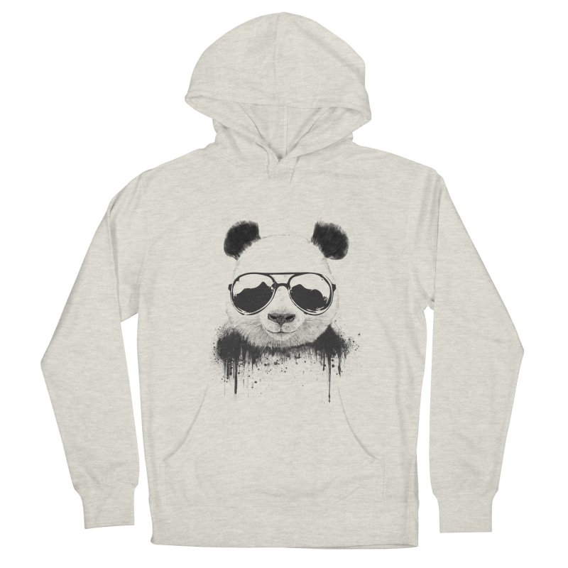 Stay cool Women's French Terry Pullover Hoody by Balazs Solti