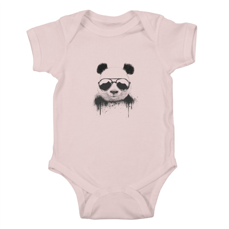 Stay cool Kids Baby Bodysuit by Balazs Solti
