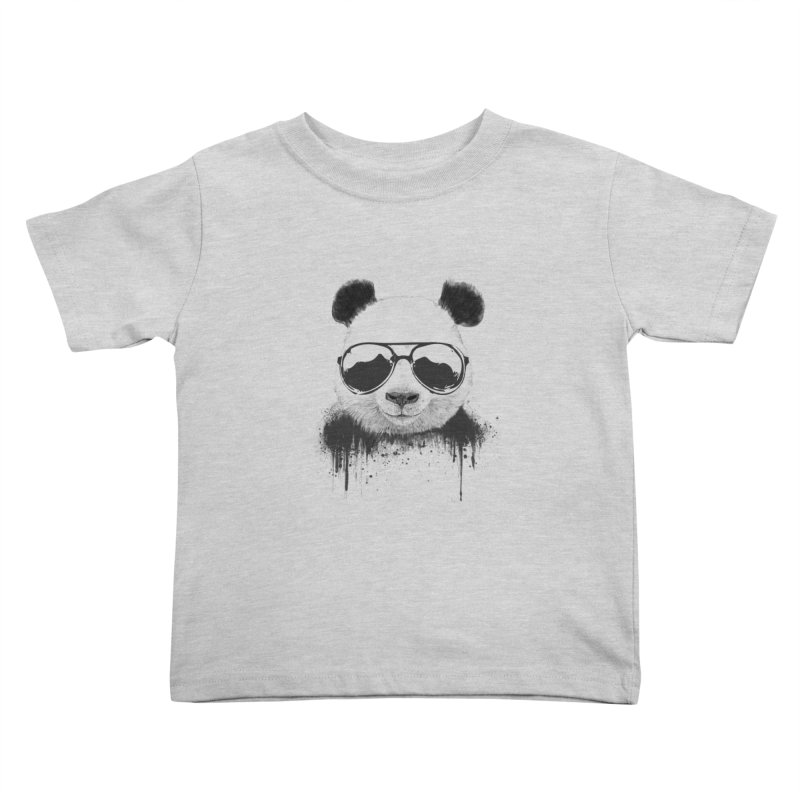 Stay cool Kids Toddler T-Shirt by Balazs Solti