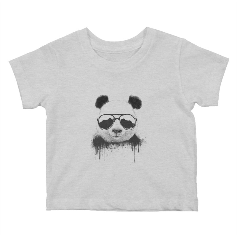 Stay cool Kids Baby T-Shirt by Balazs Solti