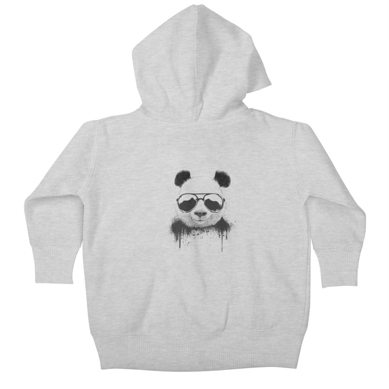 Stay cool Kids Baby Zip-Up Hoody by Balazs Solti