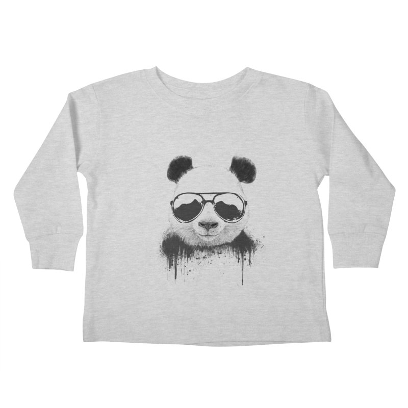 Stay cool Kids Toddler Longsleeve T-Shirt by Balazs Solti