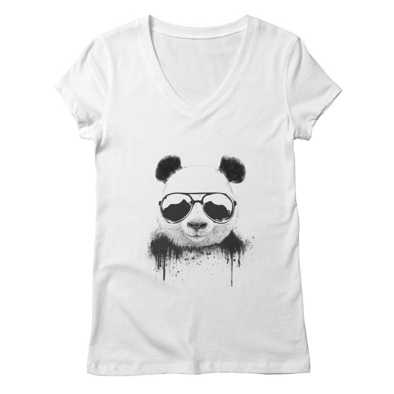Stay cool Women's Regular V-Neck by Balazs Solti
