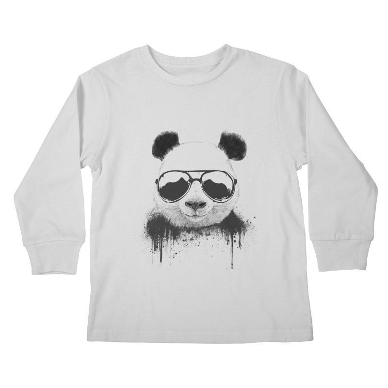 Stay cool Kids Longsleeve T-Shirt by Balazs Solti