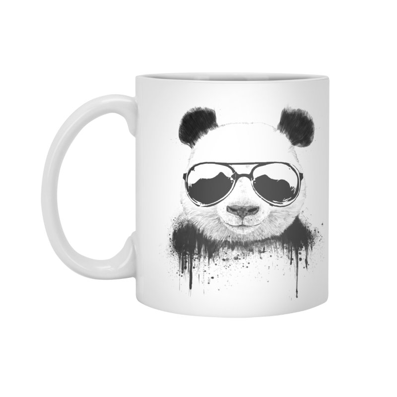 Stay cool Accessories Standard Mug by Balazs Solti