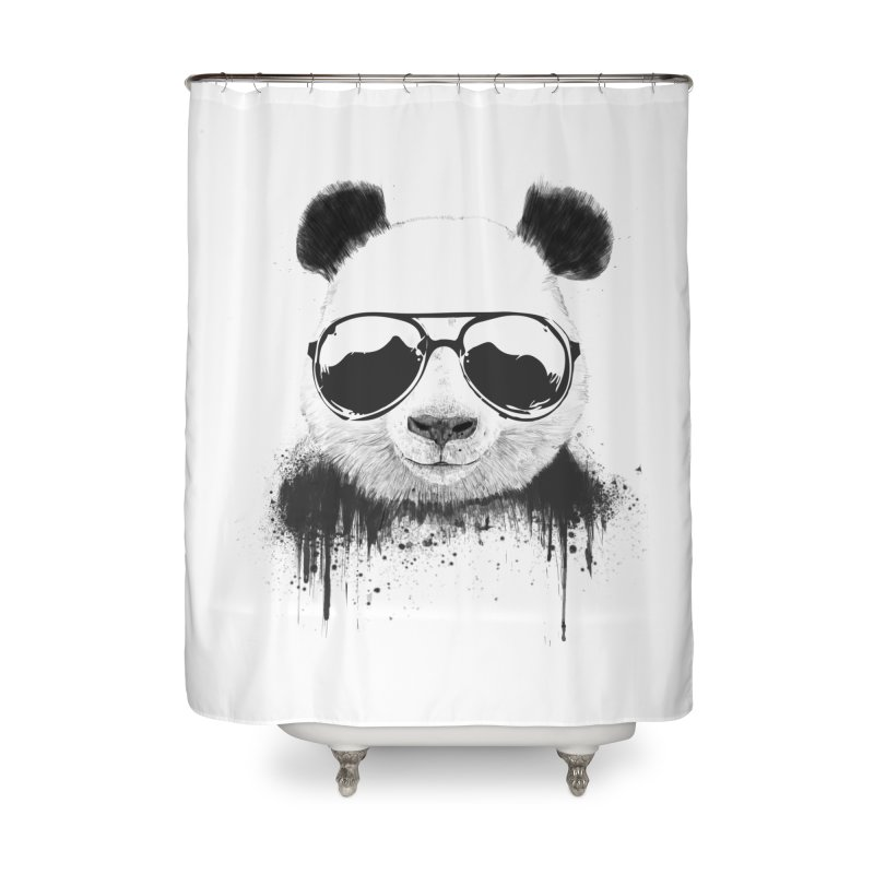Stay cool Home Shower Curtain by Balazs Solti