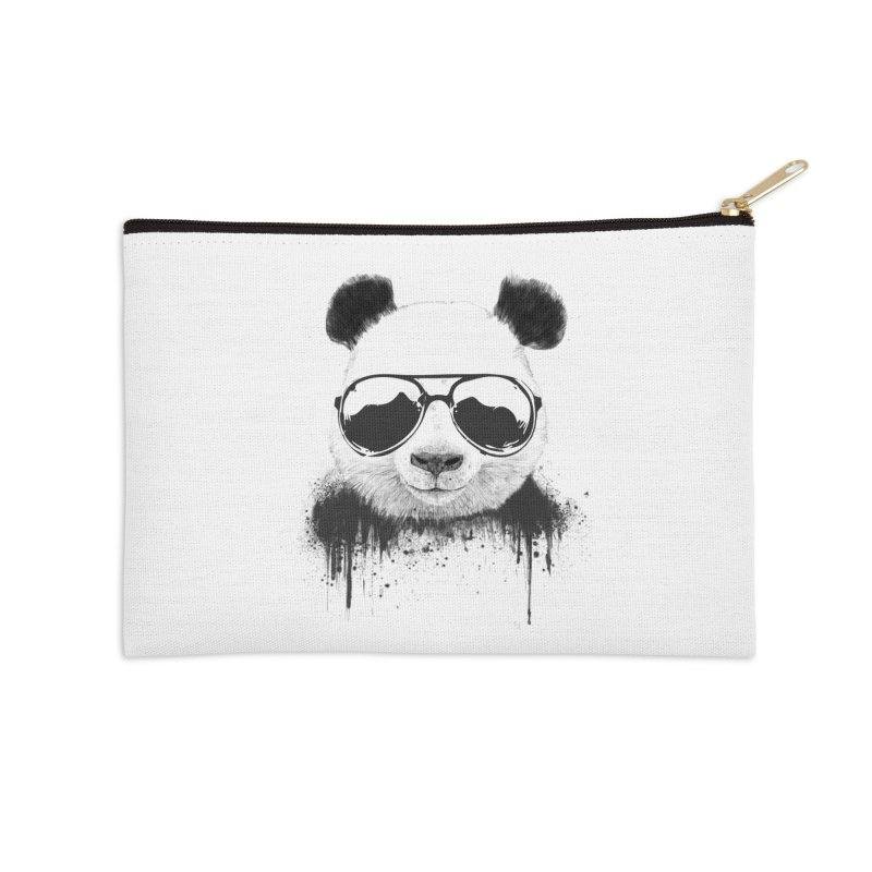 Stay cool Accessories Zip Pouch by Balazs Solti