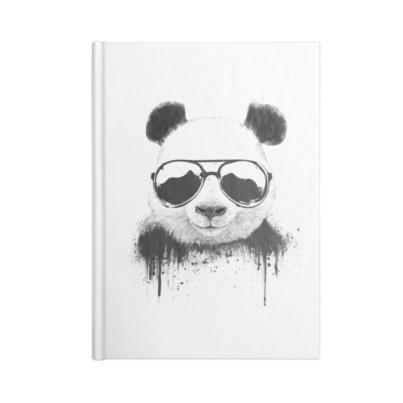 Stay cool Accessories Blank Journal Notebook by Balazs Solti