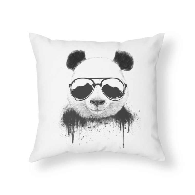 Stay cool Home Throw Pillow by Balazs Solti