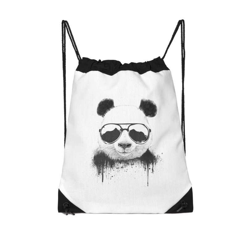 Stay cool Accessories Drawstring Bag Bag by Balazs Solti