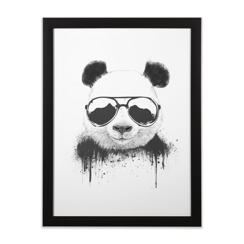 Stay cool Home Framed Fine Art Print by Balazs Solti