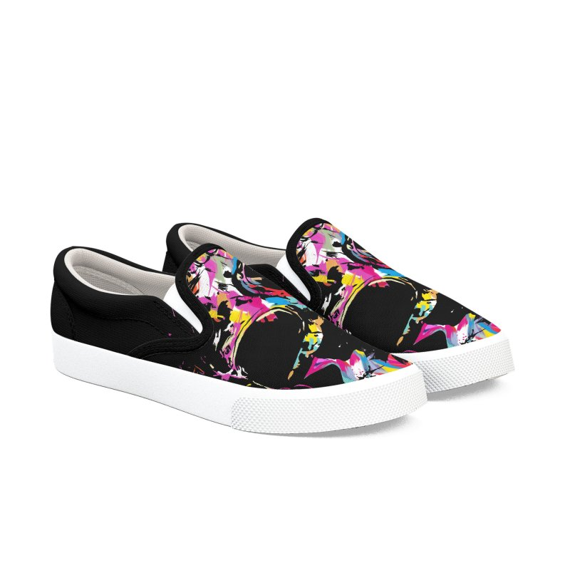 Skull X Men's Slip-On Shoes by Balazs Solti