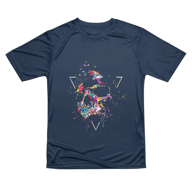 Skull X Women's Performance Unisex T-Shirt by Balazs Solti