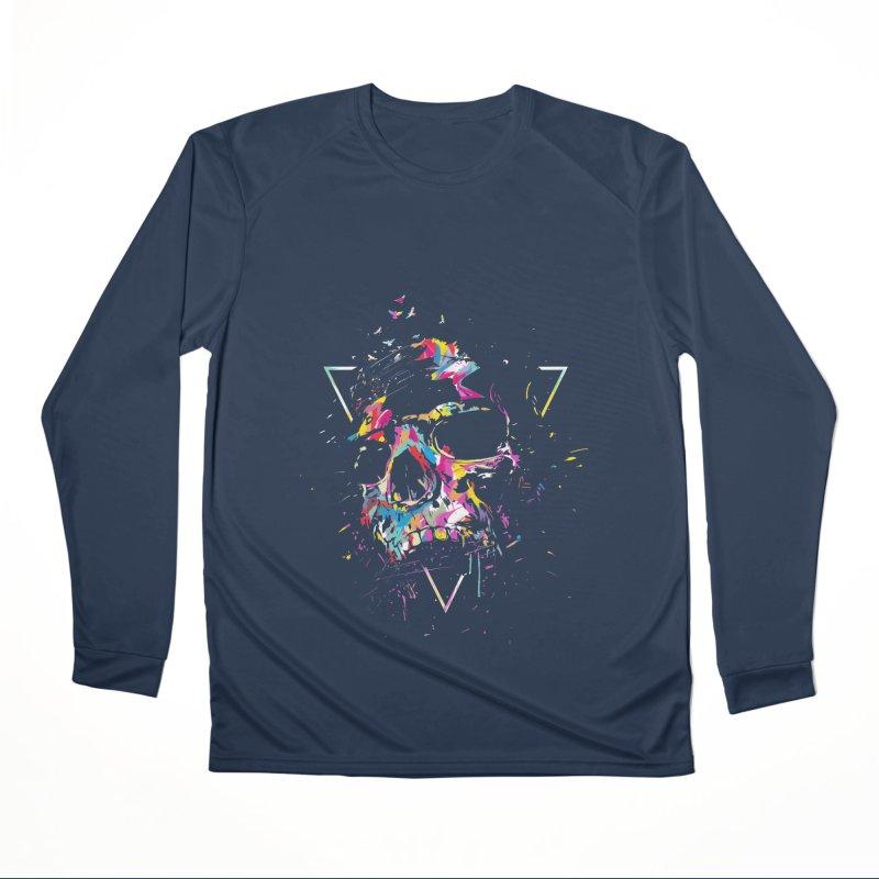 Skull X Women's Performance Unisex Longsleeve T-Shirt by Balazs Solti