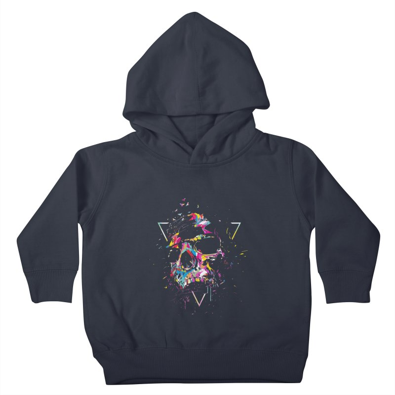 Skull X Kids Toddler Pullover Hoody by Balazs Solti