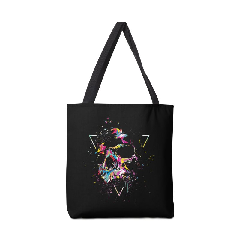 Skull X Accessories Tote Bag Bag by Balazs Solti