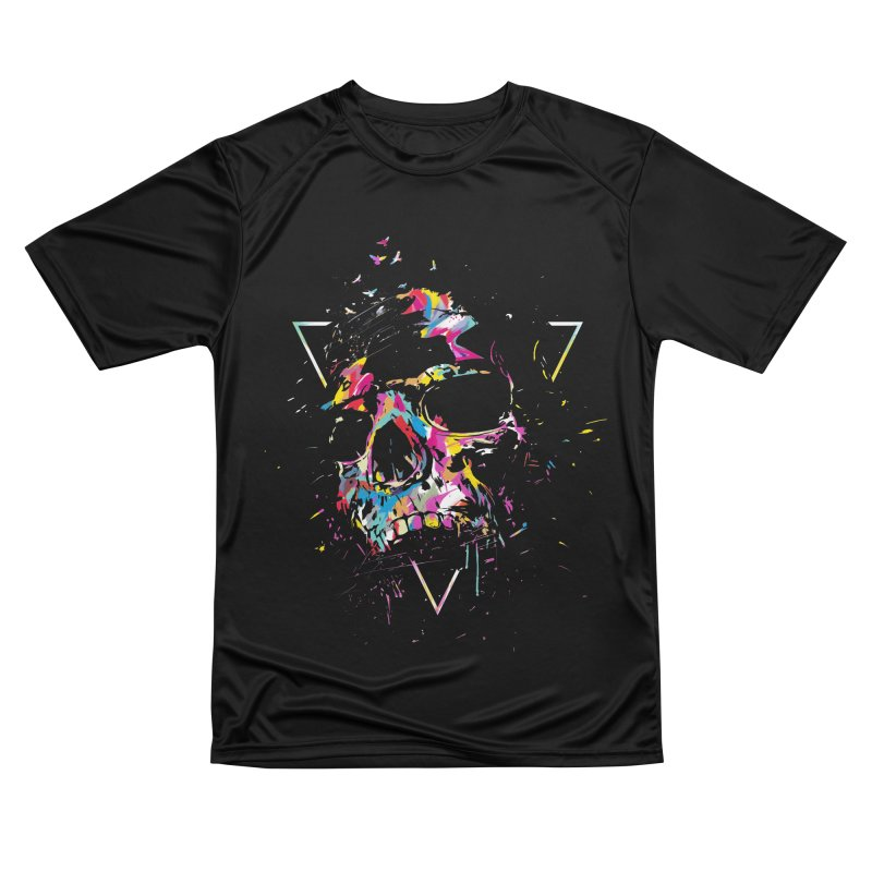 Skull X Men's Performance T-Shirt by Balazs Solti