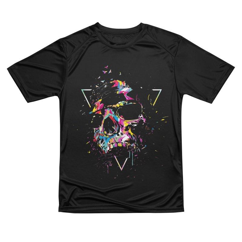 Skull X Women's T-Shirt by Balazs Solti