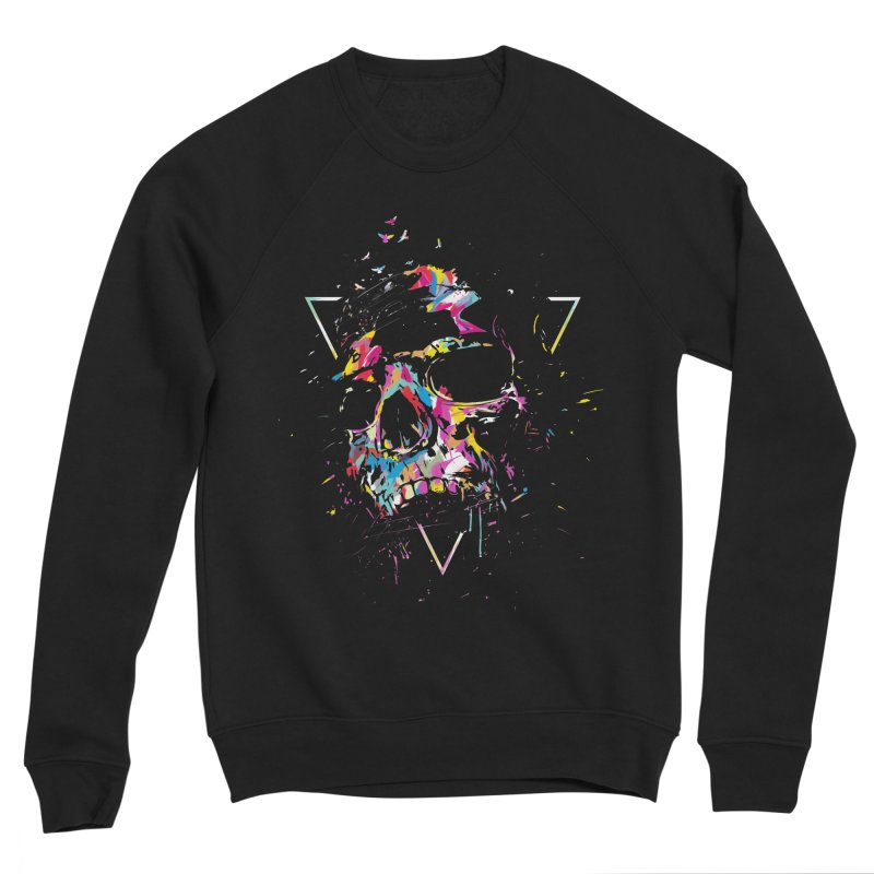Skull X Men's Sponge Fleece Sweatshirt by Balazs Solti