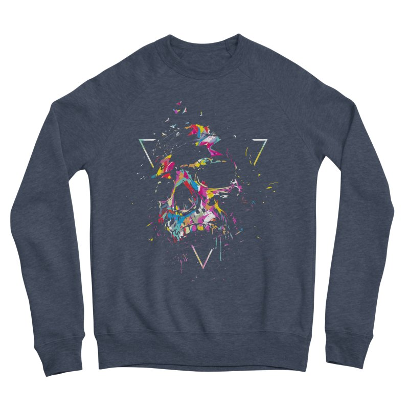 Skull X Women's Sponge Fleece Sweatshirt by Balazs Solti