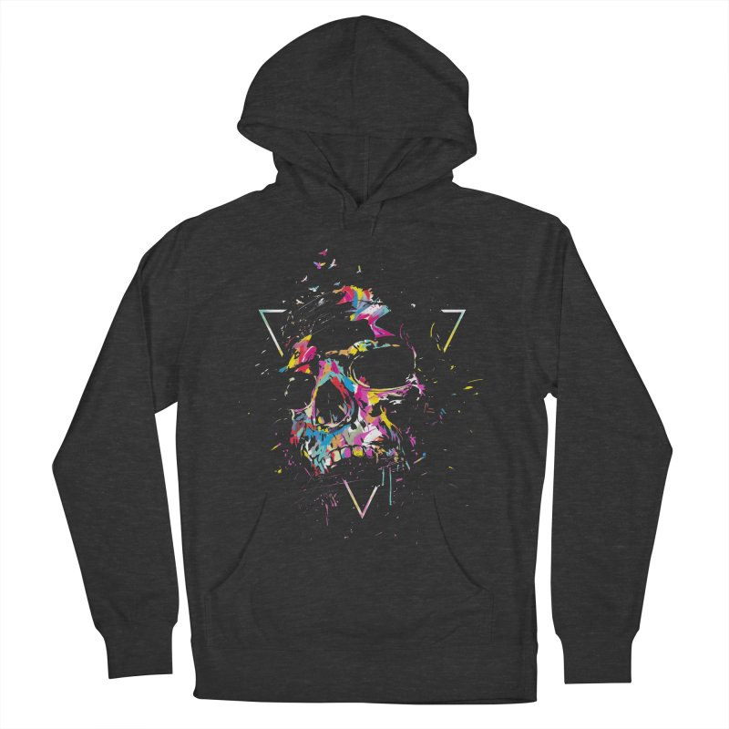 Skull X Women's French Terry Pullover Hoody by Balazs Solti