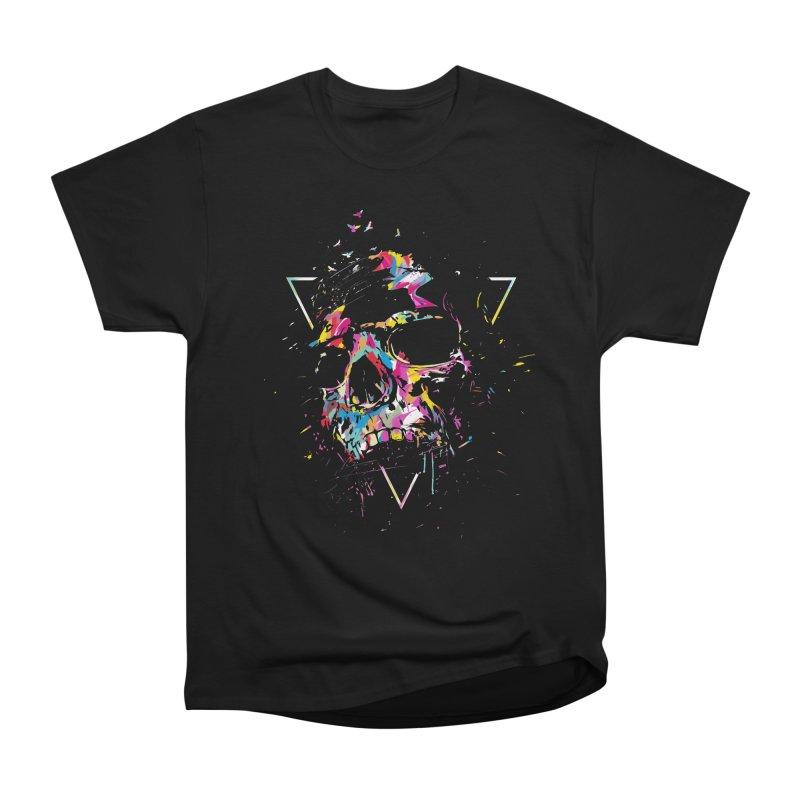 Skull X Men's Heavyweight T-Shirt by Balazs Solti