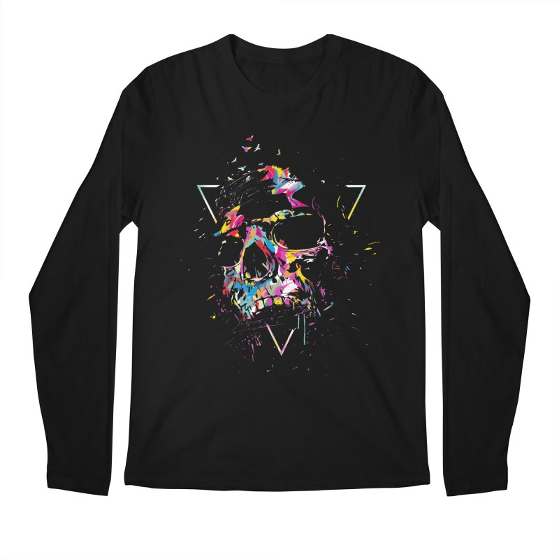 Skull X Men's Regular Longsleeve T-Shirt by Balazs Solti