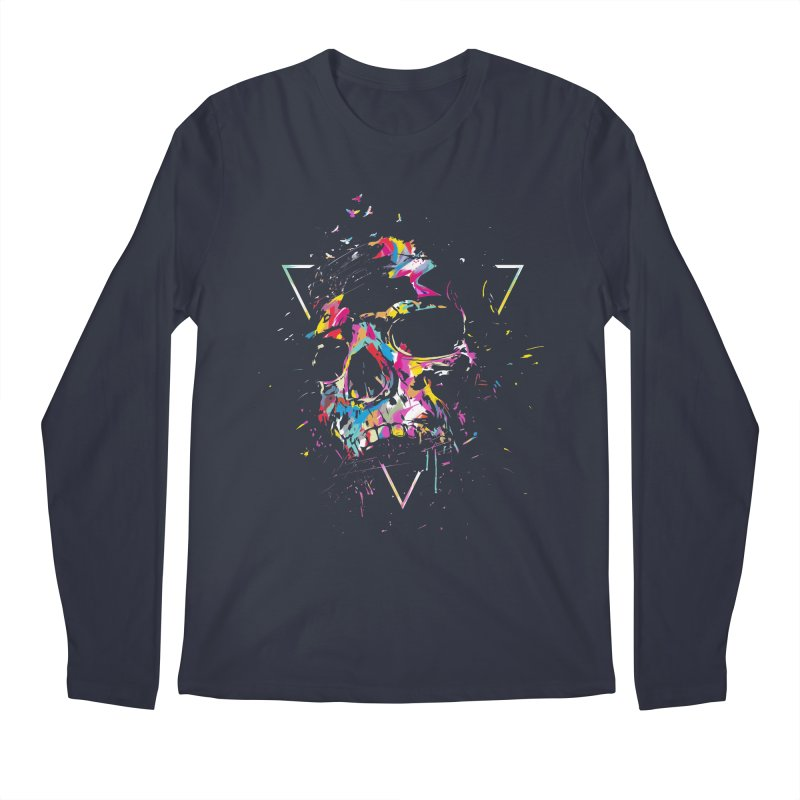 Skull X Men's Regular Longsleeve T-Shirt by Balazs Solti