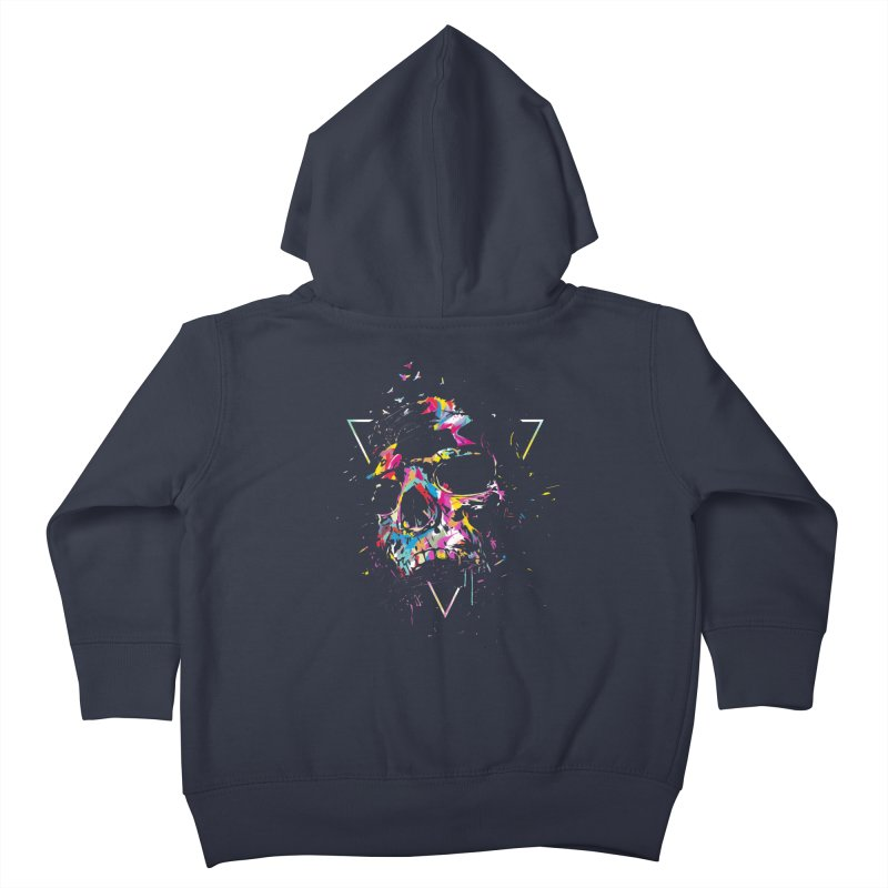 Skull X Kids Toddler Zip-Up Hoody by Balazs Solti