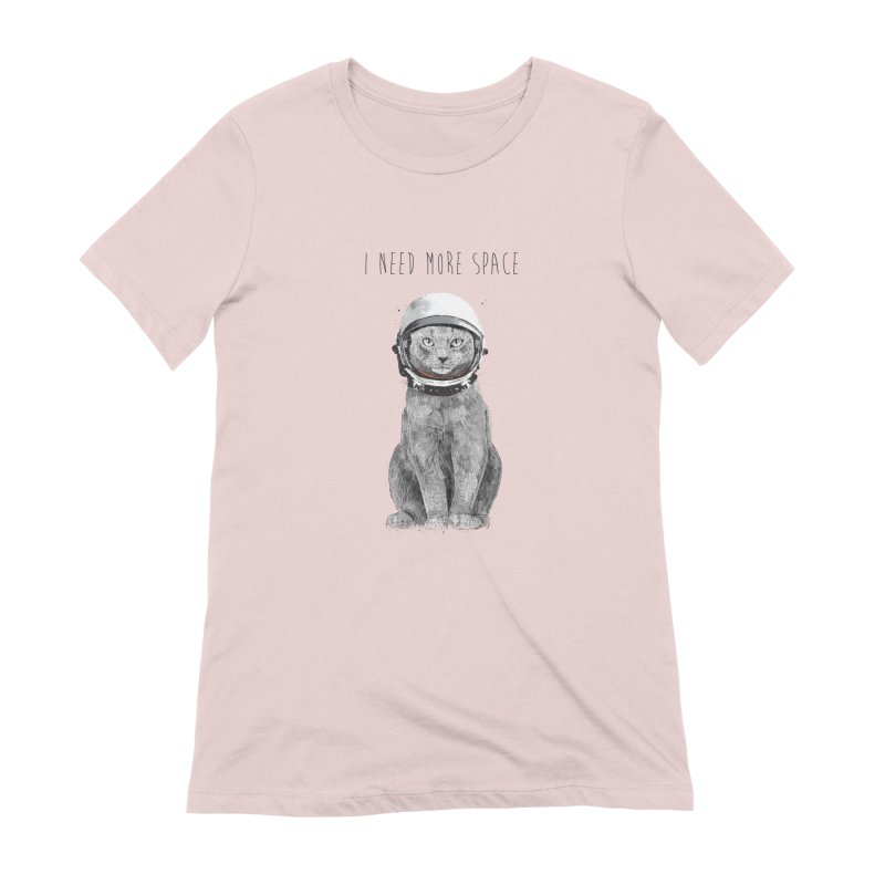 I need more space Women's Extra Soft T-Shirt by Balazs Solti
