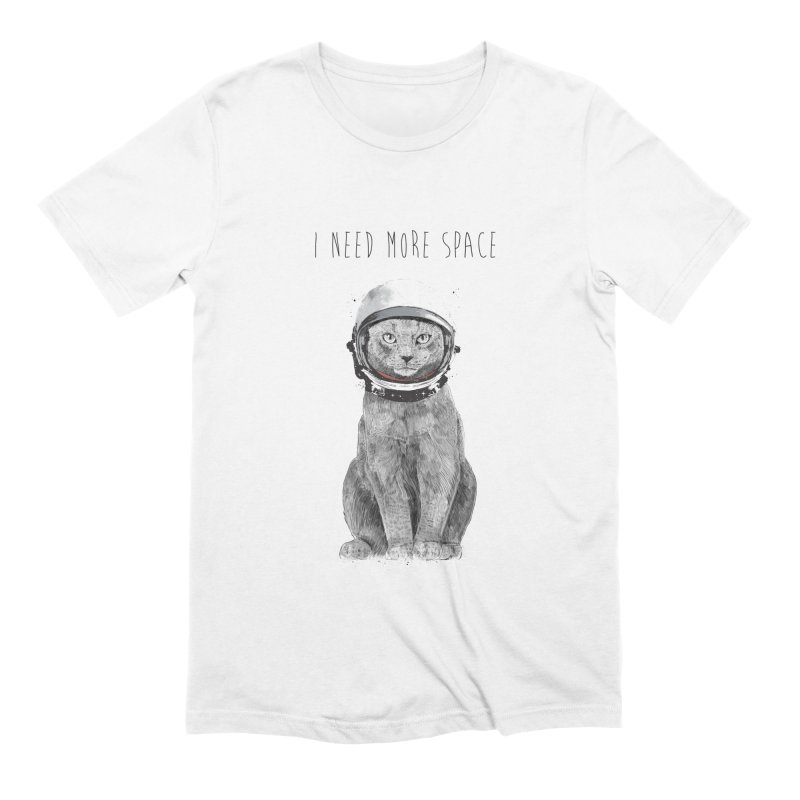 I need more space Men's Extra Soft T-Shirt by Balazs Solti