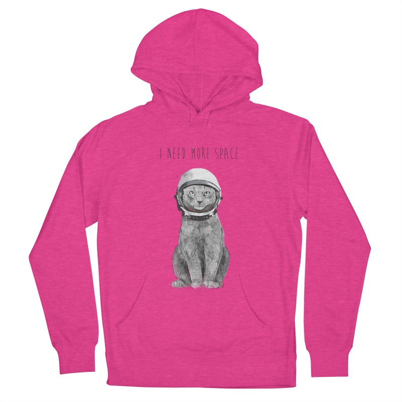 I need more space Women's Pullover Hoody by Balazs Solti