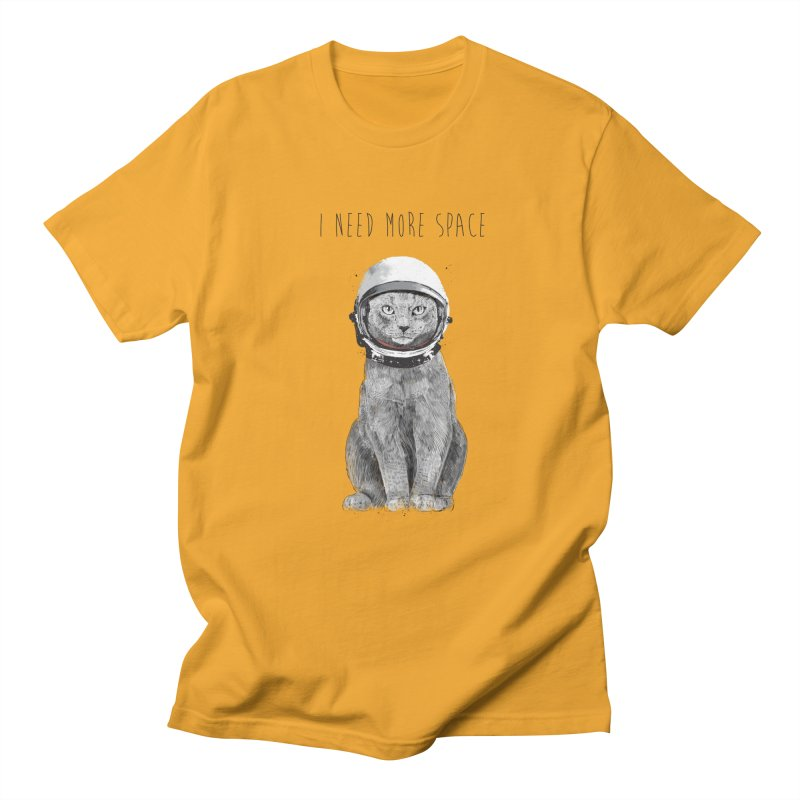 I need more space Women's Regular Unisex T-Shirt by Balazs Solti