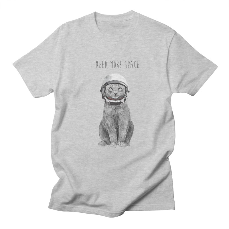 I need more space Men's Regular T-Shirt by Balazs Solti