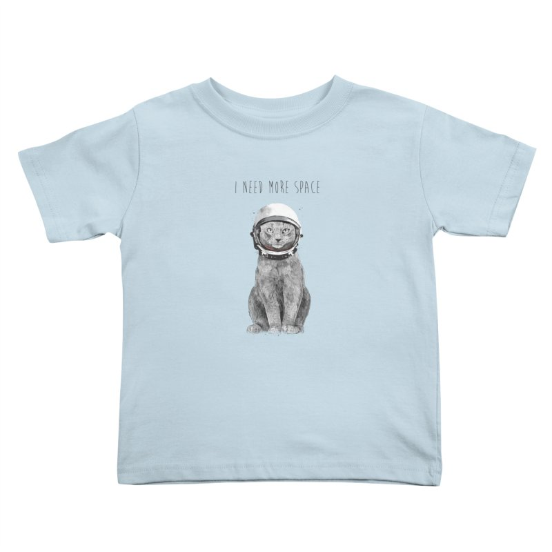 I need more space Kids Toddler T-Shirt by Balazs Solti