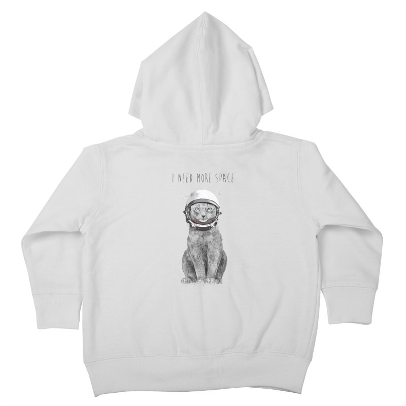 I need more space Kids Toddler Zip-Up Hoody by Balazs Solti