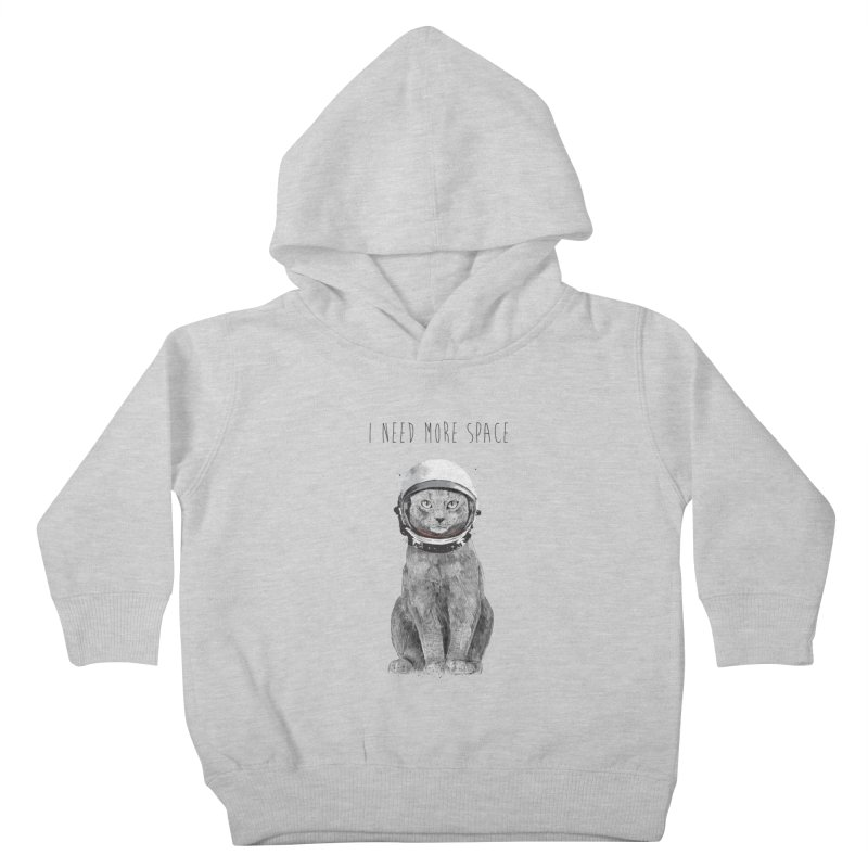 I need more space Kids Toddler Pullover Hoody by Balazs Solti