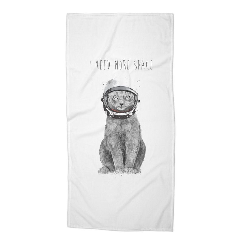 I need more space Accessories Beach Towel by Balazs Solti