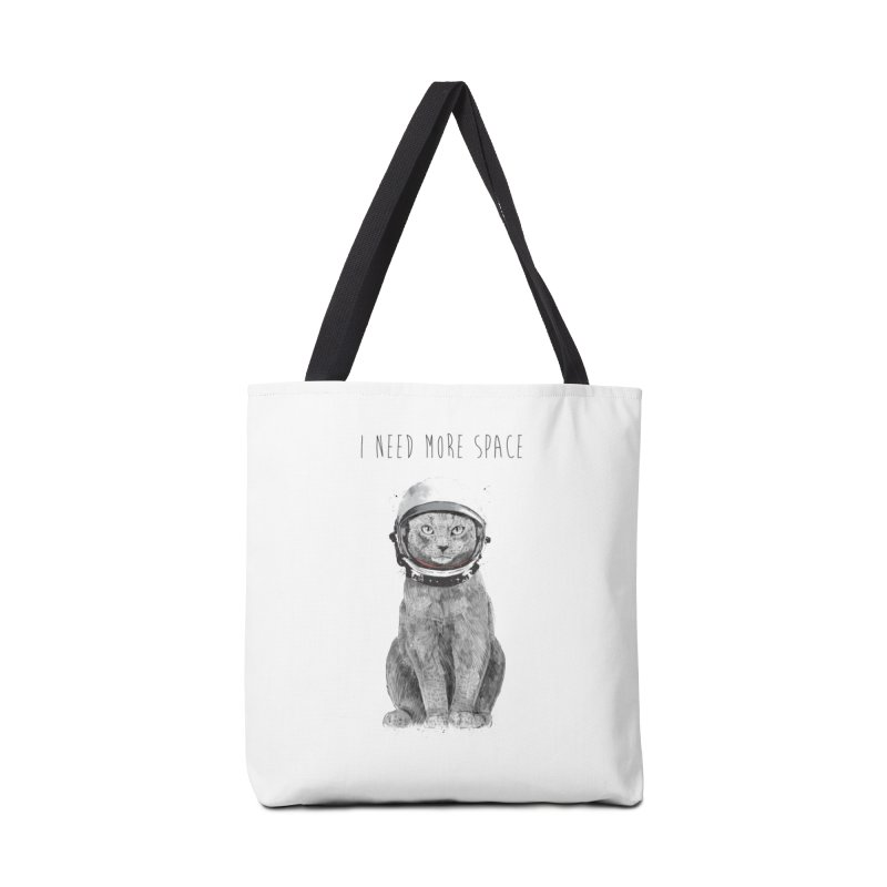 I need more space Accessories Tote Bag Bag by Balazs Solti