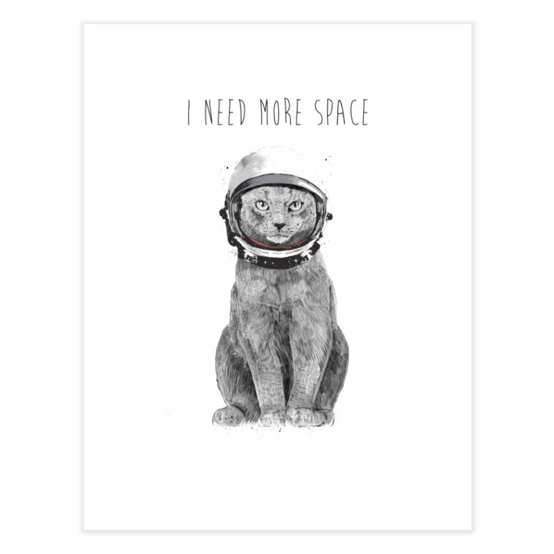 I need more space Home Fine Art Print by Balazs Solti