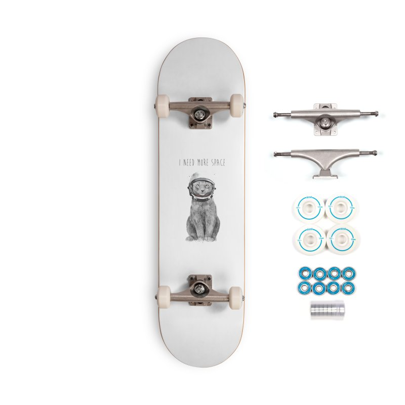 I need more space Accessories Skateboard by Balazs Solti