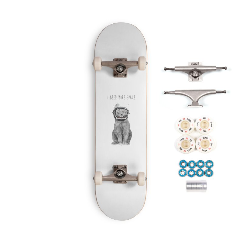 I need more space Accessories Complete - Premium Skateboard by Balazs Solti