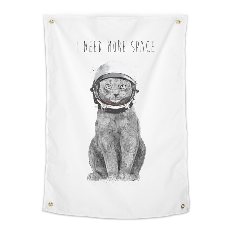 I need more space Home Tapestry by Balazs Solti