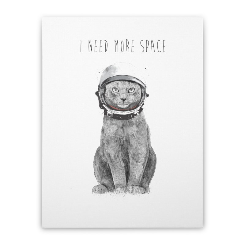 I need more space Home Stretched Canvas by Balazs Solti