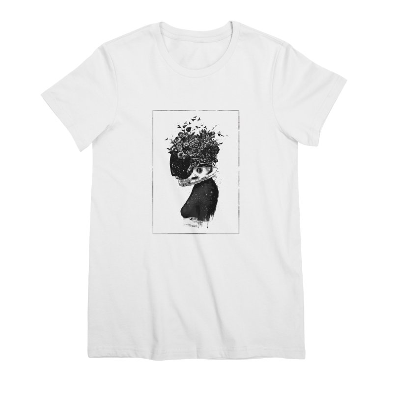 Hybrid  girl Women's T-Shirt by Balazs Solti