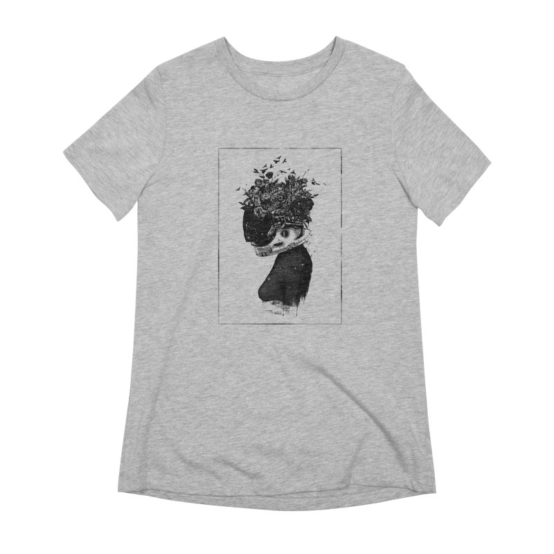 Hybrid  girl Women's Extra Soft T-Shirt by Balazs Solti