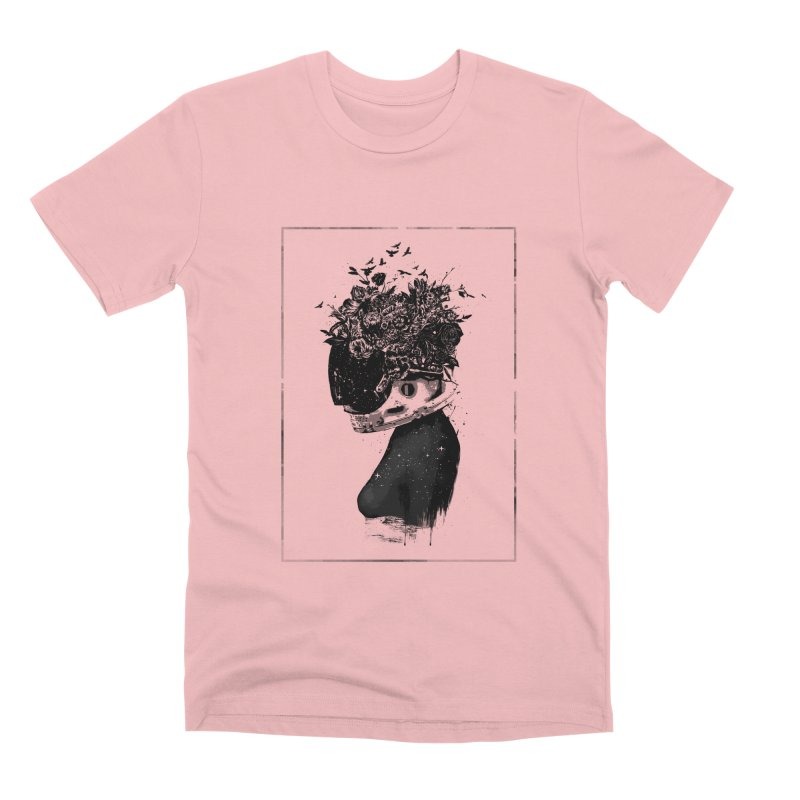 Hybrid  girl Men's Premium T-Shirt by Balazs Solti